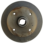111-405-615b Front Brake Drum - 4 Hole Type-1 from 8/67 (Except Super Beetles)