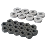 1270 Cylinder Head Nut Sets - 8mm (w/special thick washers) (set of 16)