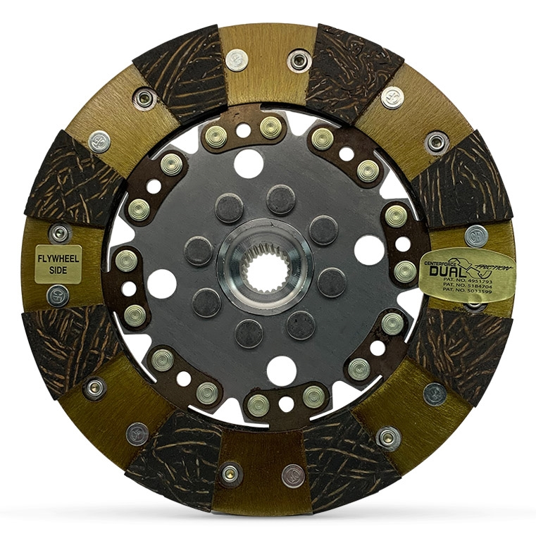 Friction Disc Material : Dual friction clutch disc mm