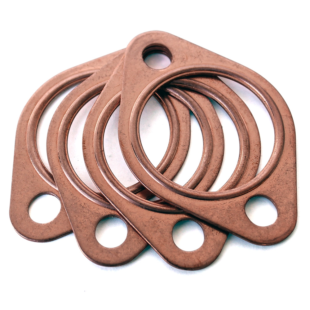 Copper exhaust gaskets quot set of