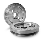 "1910 6 3/4"" Equalizer Crankshaft Pulley (Silver Zinc Finish)"