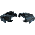 1984 Off-Road Dual Port Cylinder Covers - Black (set of 2)