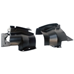 1988 Dual Port Cylinder Covers - Black (set of 2)