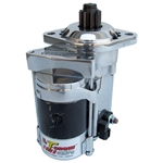 2150 Hi-Torque Gear Drive Starter - 6 Volt Polished & Chrome Plated - fits all Type-1