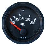 "2331 VDO Cockpit Black - 2 1/16"" Cockpit Electric Oil Temp Gauge"