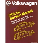 2864 Volkswagen Fastback and Squareback Offical Service Manual 68-73