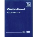 2866 Volkswagen Type 3 Workshop Manual '61-67