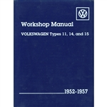 2882 Volkswagen Beetle and Karman Ghia Service Manual 52-57
