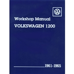 2884 Volkswagen Passenger Cars, Workshop Manual 61-65