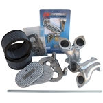3125 Cross Bar Linkage Kit w/Manifolds & Air Filters (Dual Port Type-1 Offset) IDF & DRLA