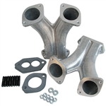 3180 CNC Street Eliminator Match Ported Big Beef Manifolds - IDA (set of 2)