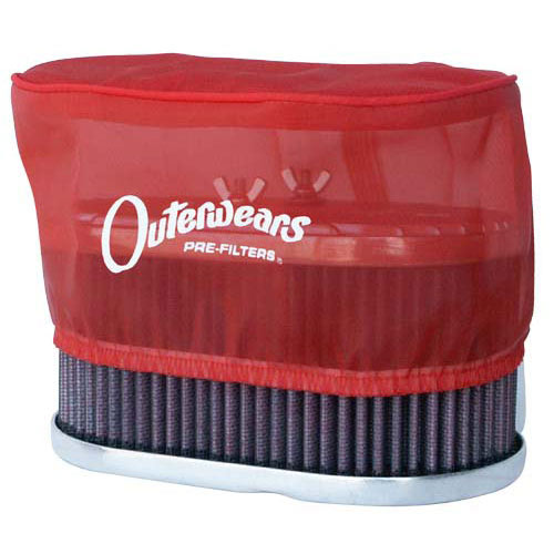 3579 Outerwears - DRLA U0026 IDF Air Filter 3 1/4u0026quot; - Red