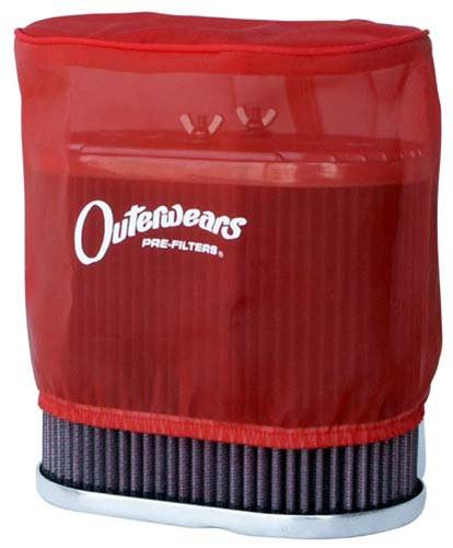 3584 Outerwears - DRLA U0026 IDF Air Filter 6u0026quot; - Red