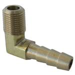3973 90 degree 1/4'' Hose x 1/8'' - 27 NPT