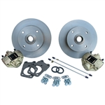 4185 Disc Brake Kit - Super Beetle 71-73 1/2, Equipped with standard VW 4 bolt pattern