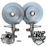 4190 Dropped Disc Brake Kit (Ball Joint) 4 Lug '66-on Sedans & Ghias