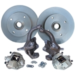 4287 Standard Height Disc Brake Kit (Ball Joint) 4 Lug '66-later Sedans & Ghias