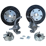 4292 Standard Height Disc Brake Kit (Ball Joint) with 5 Lug Porsche Alloy bolt pattern