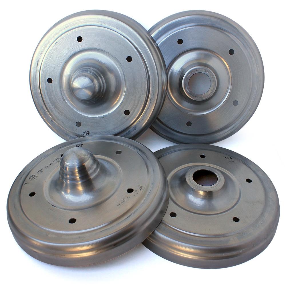 4430 Aluminum Drum Covers Set Of 4