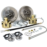 4642 Rear Disc Brake Kit with Parking Brakes, fits IRS '69-later