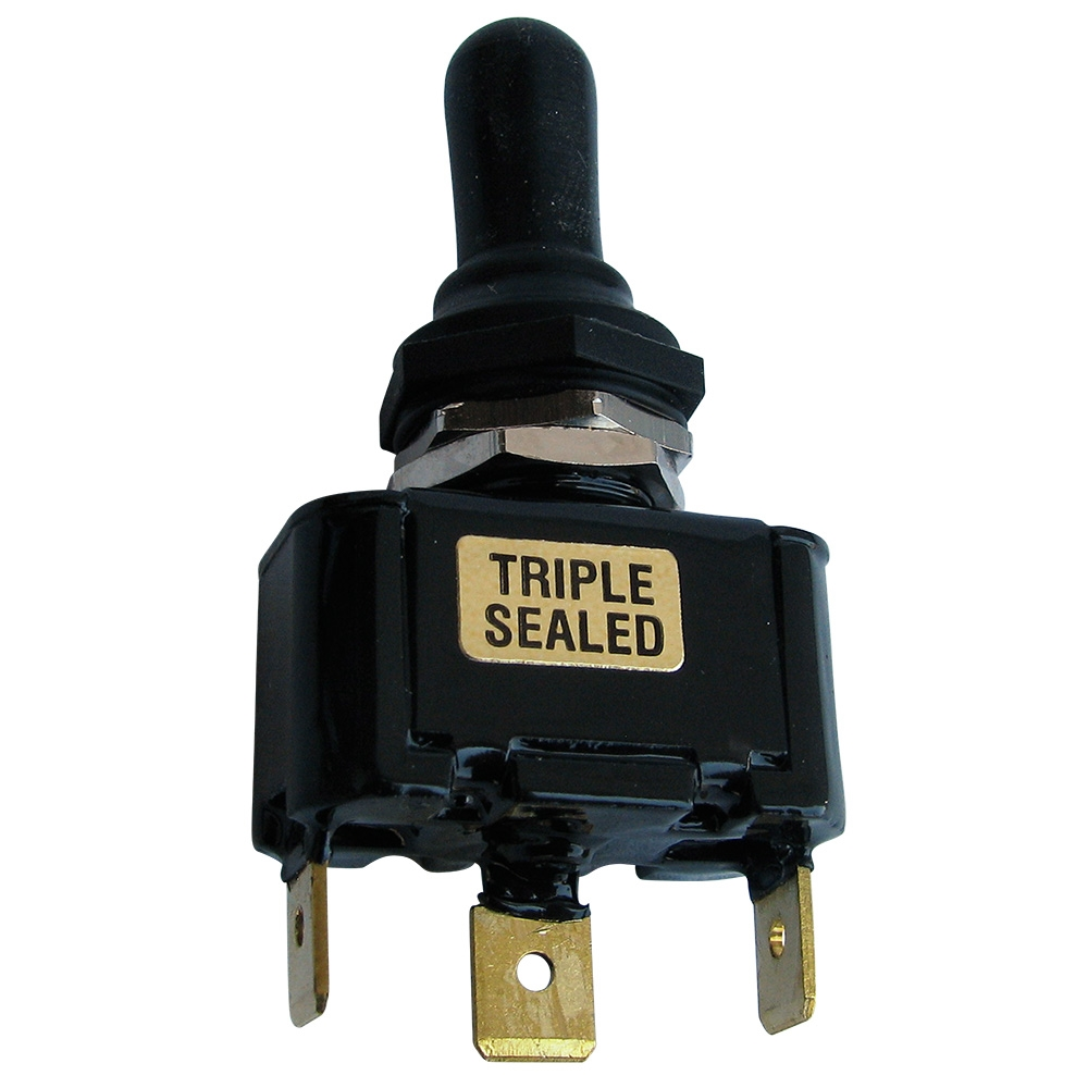 5082 Triple Sealed Toggle Switch  Single Pole  Double Throw