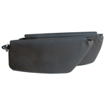 5749 Sunvisors - 65-67 Black (pair)