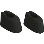 5807 Sunvisor Mounts - 65-67 Black (pair)