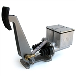6087 CNC Dual Master Cylinder Pedal Assembly