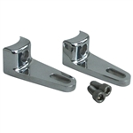 7773 Three Panel Mounting Brackets - Radius Mount