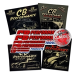 7983 CB Performance Sticker Pack (11 stickers)