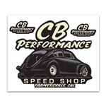 8004 Stickers - CB Performance Speed Shop