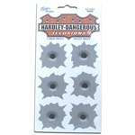 HDBS Stickers - Hardley Dangerous Bulletholes