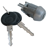 113-905-855b Switches - Lock Cylinder w/Keys - fits Type-1 & 3 from 8/70