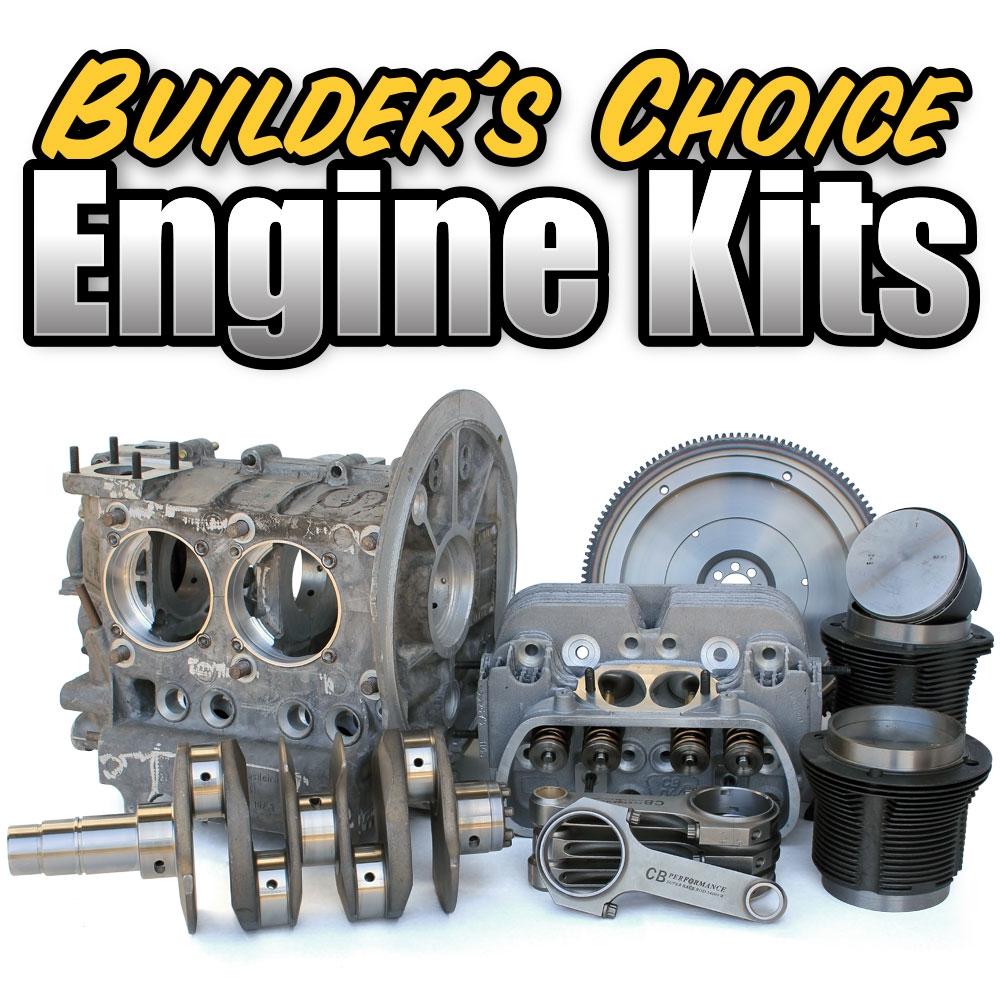1187 Builder's Choice Engine Kits - 220 HP 2387cc - The Big Power Signature  Kit