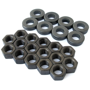 1269 Cylinder Head Nut Sets - 10mm (w/special thick washers) (set of 16)
