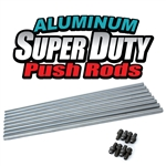 1624 Aluminum Super Duty Push Rods - Dual Taper (set of 8)