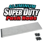 "1627 Aluminum Super Duty Push Rods (11.250"" Length) Blank End (set of 8)"