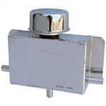 1662 Clyde Berg Breather Box Finish with 1/2'' Slip On Hose Fitting (Polished)