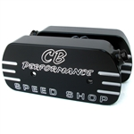 1694 CB Speed Shop Billet Valve Covers - Black Anodized (set of 2)