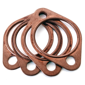 "1883 Copper Exhaust Gaskets 1 5/8"" (set of 4)"