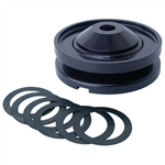 1914 Billet Aluminum Alternator/Generator Pulley (Black)