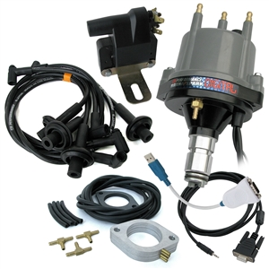 "2016 MAGNASPARKâ""¢ Digital Distributor Kit (includes Wires, MS-Digital Distributor, USB-Serial adapter cable, Coil and Vacuum Reference Kit)"