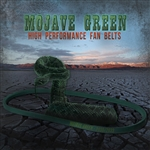 "2030 Mojave Green Fan Belt - fits 6"" Power Pulleys"