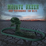 2033 Mojave Green Fan Belt - fits Stock Pulleys