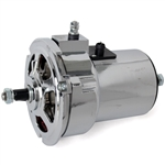 2134 12 Volt Chrome Alternator (75 Amp)
