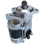 2144 Hi-Torque Gear Drive Starter - 12 Volt Polished & Chrome Plated - fits all Type-1 & includes Auto Stick