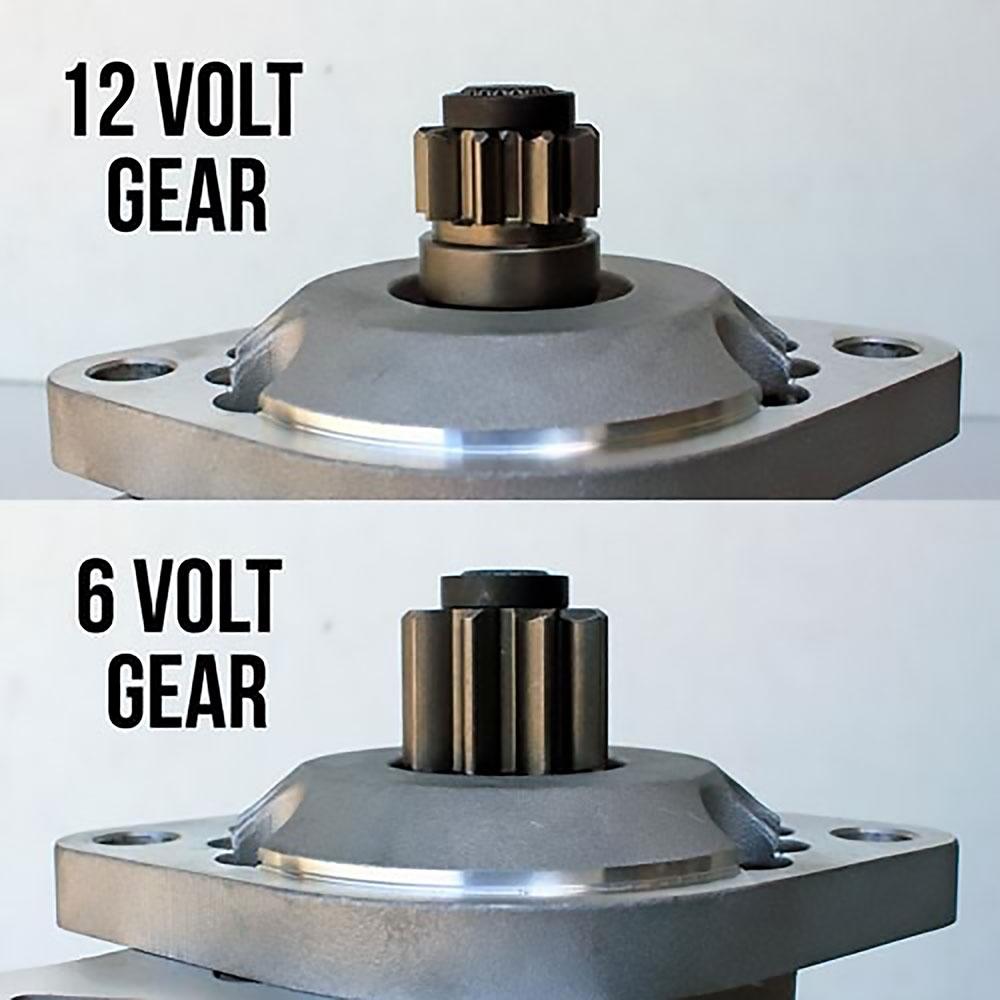 2145 Hi-torque Gear Drive Starter