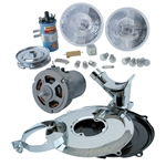 2154 Change Over Kits - Chrome 12 Volt
