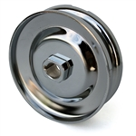 2162b 12 Volt Generator/Alternator Pulley (Chrome Plated)