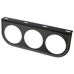 2387 Gauge Mounting Panels - Triple (Black)